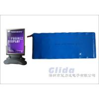 18650锂电池 LED广告灯箱锂电池组 磷酸铁锂应用方案