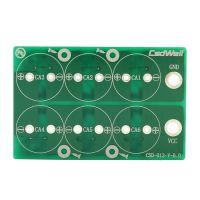 超级电容模组保护板双排六串2.7V 10F25F30F100F120F