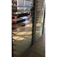 上海兮鸿SL130双层玻璃百叶窗防风防雨幕墙智能百叶玻璃