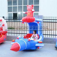广场充气电瓶车多样彩灯电瓶车新款外罩公园气模玩具车场地游艺设备