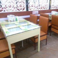 带抽屉铁桌子 湘菜馆多功能铁桌 简约现代