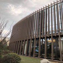 供应海南铝方通 木纹铝方管吊顶 外墙氟碳铝型材
