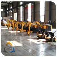 小型挖掘机 橡胶履带挖掘机保护地面 行走更环保的挖掘机械