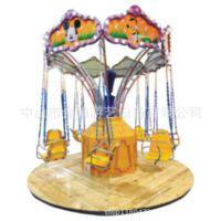 【2016年***新款设备花园秋千转移密封蝴蝶转转椅儿童游玩设备