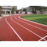 广州厂家批发塑胶跑道 塑胶面层材料 橡胶跑道塑胶篮球场建设