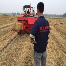 绥化小麦收秸秆打捆机型号 鑫联牌xl-1900型麦草牧草方捆打捆机厂家供货