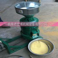 水稻去皮碾米机 谷子去壳机 青稞去皮碾米机