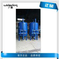 菏泽市专业生产A3碳钢机械过滤罐滨州市山泉水预处理过滤/罐广旗定做