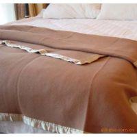 毯子有条格纯色船舶学生院校医院公寓毛毯