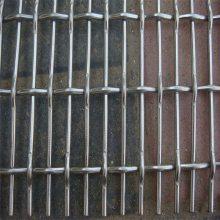 黑钢丝轧花网 矿筛轧花网 圆形振动筛