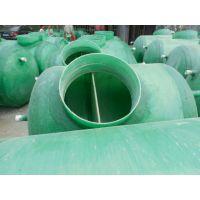 新疆伊犁大型污水处理设备 玻璃钢化粪池生产厂家