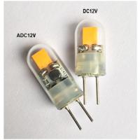 台湾COB芯片 led g4 灯 暖白色 0.8w led 玻璃 g4 光源