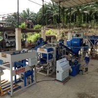 供应3-15全自动液压免烧水泥砖机 多功能护坡砖机 步道砌块机
