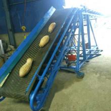 供应 定州市 六九重工 物流移动式皮带机 水果蔬菜输送带 袋装物料伸缩式皮带机