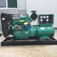 潍坊ZH4105柴油机发电机组 减速机轧机专用50千瓦水冷柴油全铜发电机