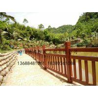 GRC仿木,预制构件,水泥栏杆,景观护栏