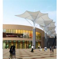 厂家供应膜结构景观棚伞户外大型膜结构伞防紫外线景观设备工程