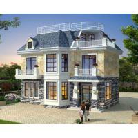 鹰潭别墅设计AT1762二层带阁楼简欧漂亮实用小别墅建筑施工图纸11.8mX7.6m