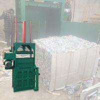 半自动立式液压打包机厂家 启航半自动压块机 塑料液压压缩打包机