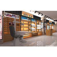 现代时尚组装展柜,昆明科通眼镜展柜制作案例!