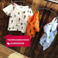 夏季短袖T恤批发童装新款韩版厂家直销T恤衫批发货到付款个性破洞中小童装短袖T恤衫批发