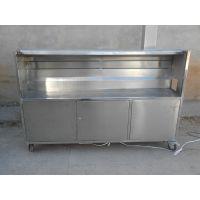 带油烟净化器的烧烤车 QX-21 山东科恩制作 全不锈钢