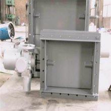 电动液压圆风门 手动方风门 法兰连接 齐鑫专注生产十余年
