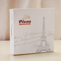 厂家定做纸盒 快餐店外卖打包披萨盒 精美印刷纸盒披萨包装盒
