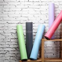 Nature rubber PU leather yoga mat