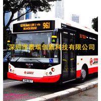 深圳公交车LED线路牌,公交车LED后窗屏生产