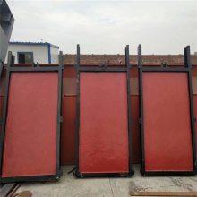 宇东水利供应渠道PGZ2米*1.8米整体式平面铸铁镶铜闸门