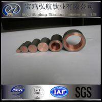 宝鸡生产厂家直供钛复合棒材, 镀锌挂锌锭用钛包铜 导电性强