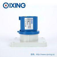 QIXING启星QX812 3芯 16A IP44高端型工业暗装插头 3C认证