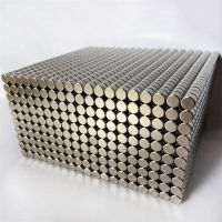 耀恒 专业生产钕铁硼圆形强磁10*2mm镀锌 镀镍强磁铁尺寸定做