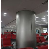 广东德普龙技术创新包柱铝单板生产厂家