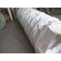 腾新水泥散装机伸缩帆布袋,布料机伸缩下料管订做生厂家
