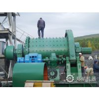 供应郑矿机器全新铝粉球磨机 格子型球磨机厂家