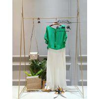 杭州时尚品牌浪漫一身女装折扣批发一手货源