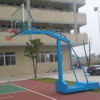学校篮球架安装哪种好 地埋式球柱子埋地80CM 中山小榄体育用品厂厂家价格优惠