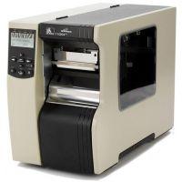 美国斑马Zebra 110Xi4工业碳带条码打印机标签大型打印机600DPI