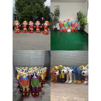 定做上海雕塑 玻璃钢圣诞老人雕塑 新年节日主题摆件 卡通雕塑