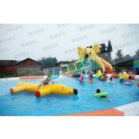 创业投资新项目-夏季水上乐园户外游泳池定做