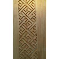 厂家定制椴木材质室内吊顶及墙面装饰使用的中式花格
