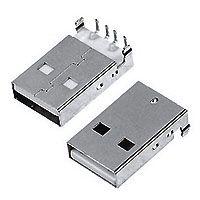 2.0/3.0/3.1 USB USB-05 A型公座90°Dip
