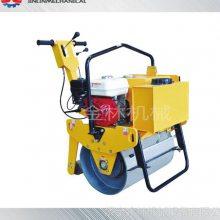 厂家直销手扶式单轮压路机小型静液压压路机金林厂家