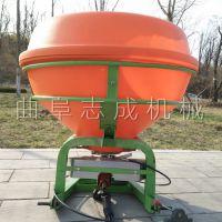 供应颗粒状撒肥施肥机 拖拉机后置悬挂式施肥机 大面积作业施肥撒肥机
