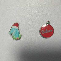 五金滴胶贴纸logo定制 滴塑金属标牌加工印刷