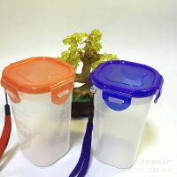 定做批发厂家直销低价环保随手杯 广告塑料杯 促销乐扣杯