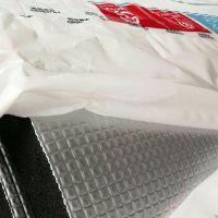 河北华美B1级橡塑保温板 复合5*5压花铝箔风机管道保温 地板隔热华美橡塑板