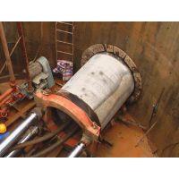 人工顶管施工队伍---------兰州新区定向钻非开挖顶管施工的方案